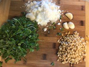 microgreens pesto recipe